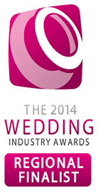2014 Wedding Industry Awards Regional Finalist